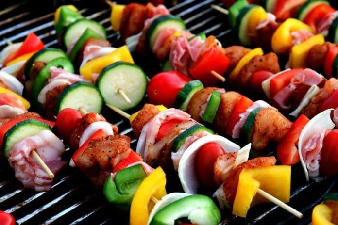 Grillet grønsager