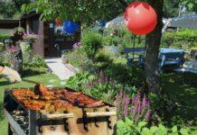 Sommeraftener på terrassen